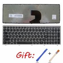 Russische Zilveren Nieuwe RU laptop toetsenbord Voor Lenovo Z500 Z500A