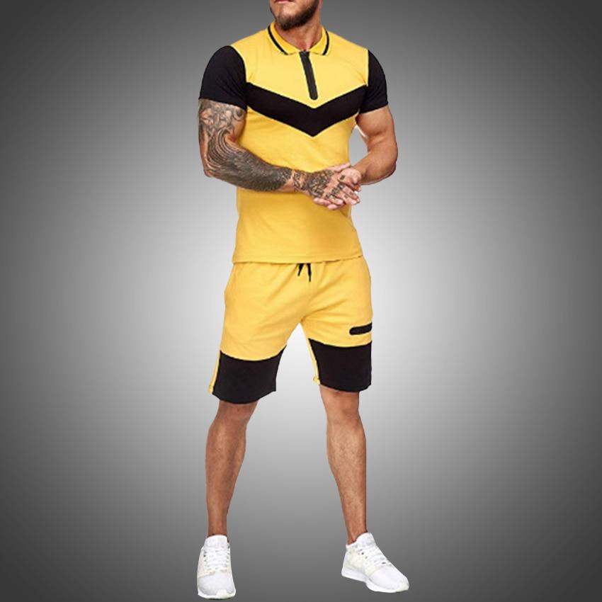 Mens Summer Sportswear Suits