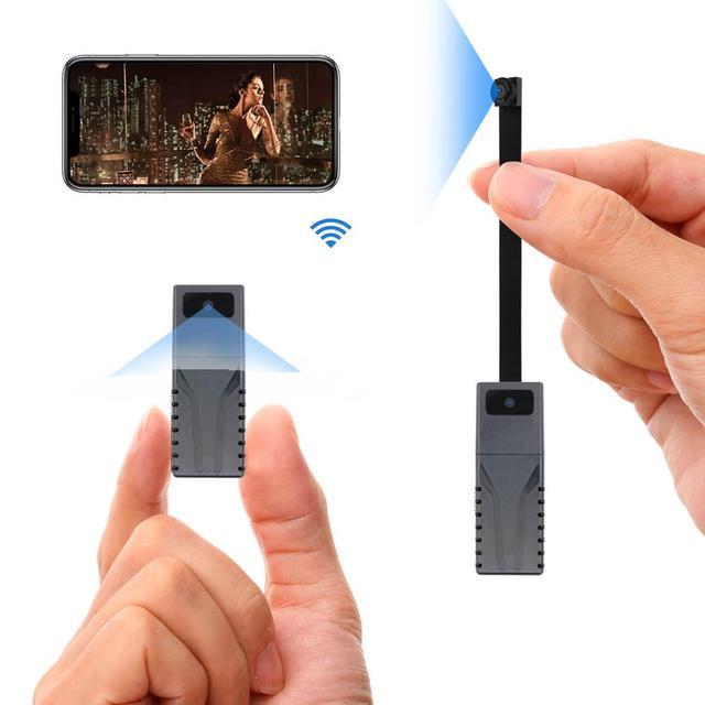 JOZUZE HD 720P DIY Portable WiFi IP Mini Camera P2P Wireless Micro webcam Camcorder Video Recorder Support Remote View TF card 1