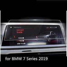 Для BMW 7 Series G11 G12 2019 автомобильный экран центральное управление навигация Сенсорный экран протектор Закаленное Стекло