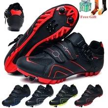 Shoes Bicycle-Sneaker Mountain-Bike Road Self-Locking Ultralight Men Professional New-Style