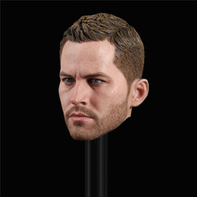 Spot 1/6 Scale GACTOYS GC028 Paul Walker Head Sculpt Brian O'Conner Head Carved Model for 12inch Action Figure DIY