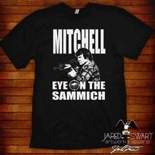 Camiseta mst3k mitchell olho no sammich! Tamanhos S M L XL 2XL 3XL 4XL