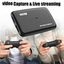 Card-Hdmi Video-Capture Live-Streaming Ezcap Recording-Box To 1080P Mic 287P 60fps 301
