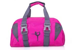 Image 4 - Adulto ballet ginástica esportes yoga dança saco para meninas bolsa crossbody cavans grande capacidade saco criança ballet dança saco feminino