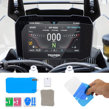 For Triumph Tiger 900 RALLY PRO Tiger900 GT PRO LOW 2020 Motorcycle Scratch Cluster Screen Dashboard Protection Instrument Film