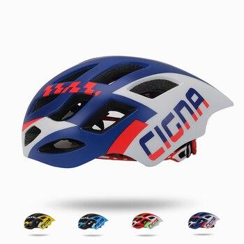 Mtb estrada ultraleve capacete de bicicleta certificação ce ciclismo capacete in-mold capacete da bicicleta casco ciclismo 57-62 cm para homem/mulher 1
