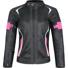 Adeeing Women Motorcycle Jacket Breathable Mesh Touring Motorbike Riding Tops Clothing Protective Gear
