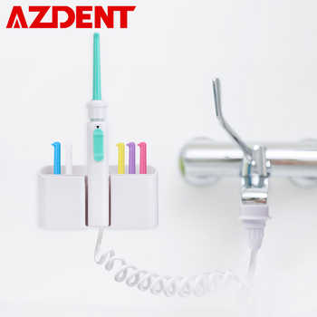 AZDENT 6pcs Nozzles Flexible Oral Irrigator Faucet Water Dental Flosser Water Jet Pick SPA Floss Cleaning Mouth Denture Cleaner - DISCOUNT ITEM  47 OFF Home Appliances
