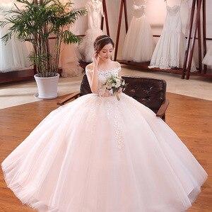 Image 2 - فستان كوكتيل حقيقي على شكل قلب فستان قصير 2020 زفاف العروس الصيف الجديد الرئيسي حجم كبير كوري بسيط مع