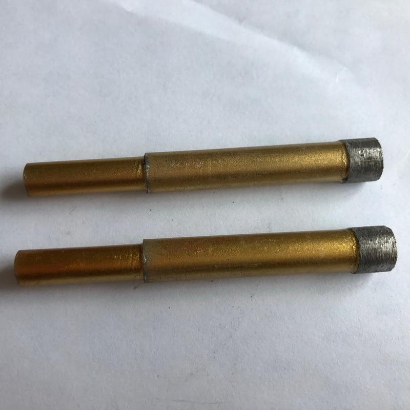 2tk 6–12mm paagutatud teemantmarmori niiske auguga sae niiske südamiku puurvarda marmori / graniidi / tellise / kivipuru reaktori puurimisava jaoks