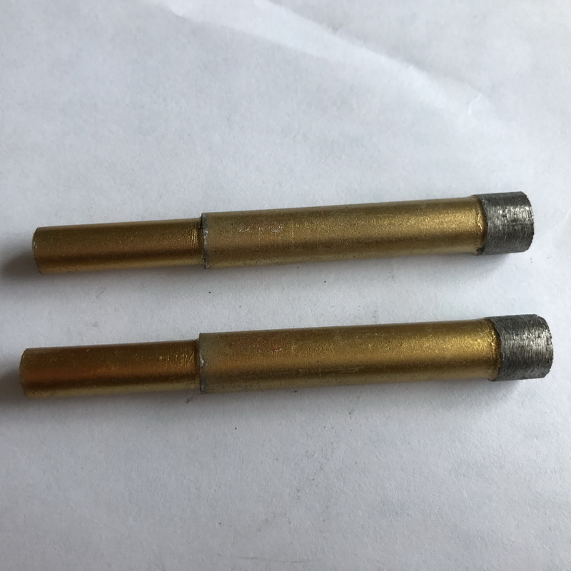 2pcs 6-12mm الماس سنگ مرمر سوراخ مرطوب اره کمی هسته مته سوراخ برای سنگ مرمر / گرانیت / آجر / سنگ بیت سوراخ سوراخ حفاری