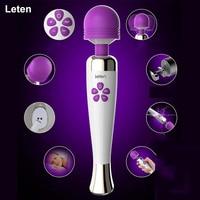 Leten Vibrators for women AV stick Magic wand massager G spot Bullet Vibrator sex toys for woman Vibrador Clitoris stimulator