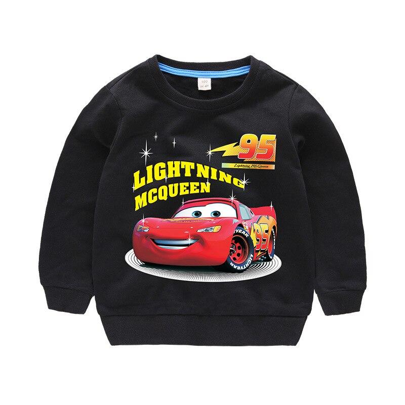Disney Cars Sweatshirt Cotton Boy Sweatshirt Child Lightning McQueen Sweatshirt 3