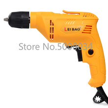 Multi-functional Small Electric Drill Mini Pistol Drill Forward And Reverse Speed Governing Household High-Power