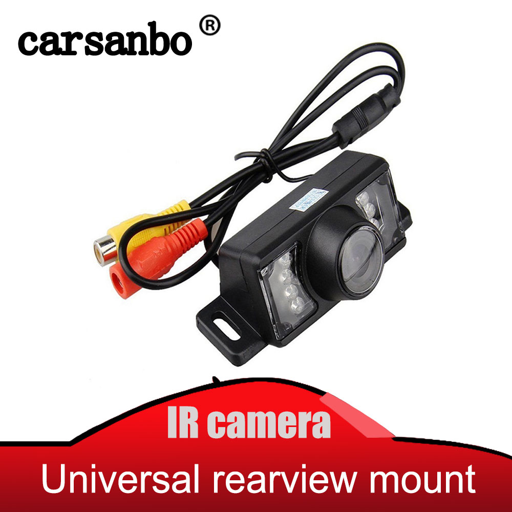 Factory HOT Selling Waterproof Car Rearview Rear View Camera For Vehicle Parking Reverse System With 7 IR LED Night Vision