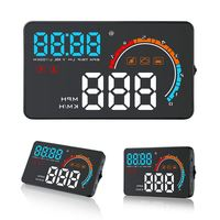 4 Inch D2500 Gm Hud Head Up Display Highlight Led Color Screen Gps Speed Display Obd2 Fault Code Elimination Fault / Overspeed A
