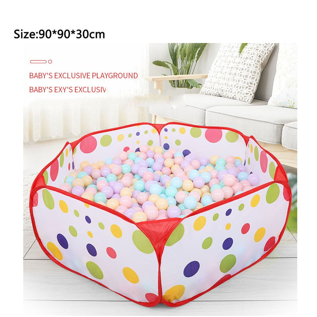 Polka Dot Pattern Foldable Baby Kids Play House Tent Basketball Tent Kids Outdoor&Indoor Sports Play Toys