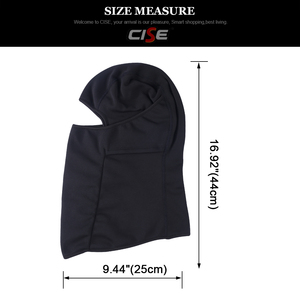 Image 4 - Motorcycle Balaclava Full Face Mask Cover Flexible Warm Helmet Liner Riding Ski Paintball Bicycle Biker Snowboard Windproof Hat