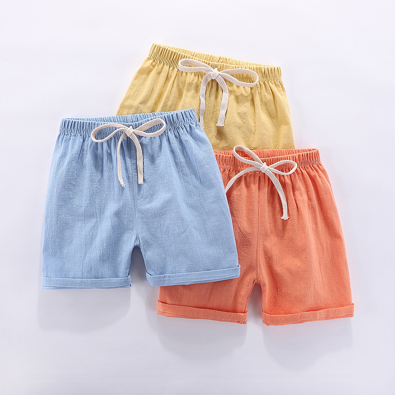 Toddlers & Childrens Unisex Cotton-Shorts