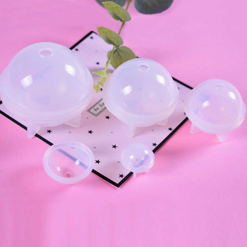 الكرة شكل قالب من السيليكون ستيريو كروية قالب من السيليكون صنع المجوهرات Balls بها بنفسك كرات الراتنج الديكور الحرف قوالب كعك أدوات خبز