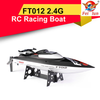 Feilun FT012 2.4G Brushless Speedboat 45km/h High Speed RC Racing Boat Water Cooling Self righting System RC Model Toy