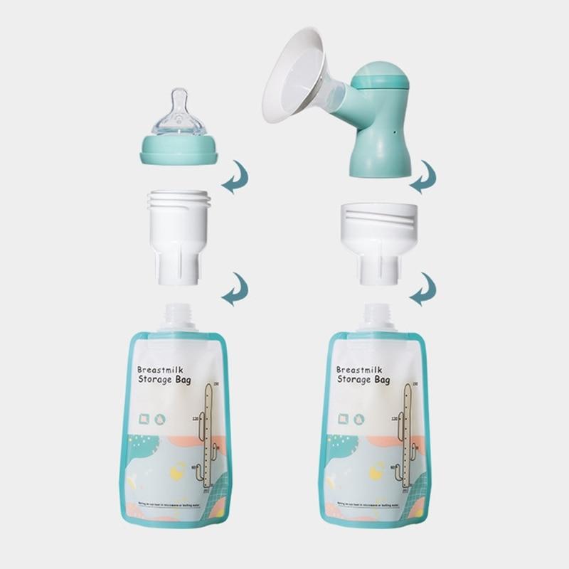 2021 New Breast Milk Storage Bags 150ml Safety Mother Milk Organizer Bag Feeding Supplies