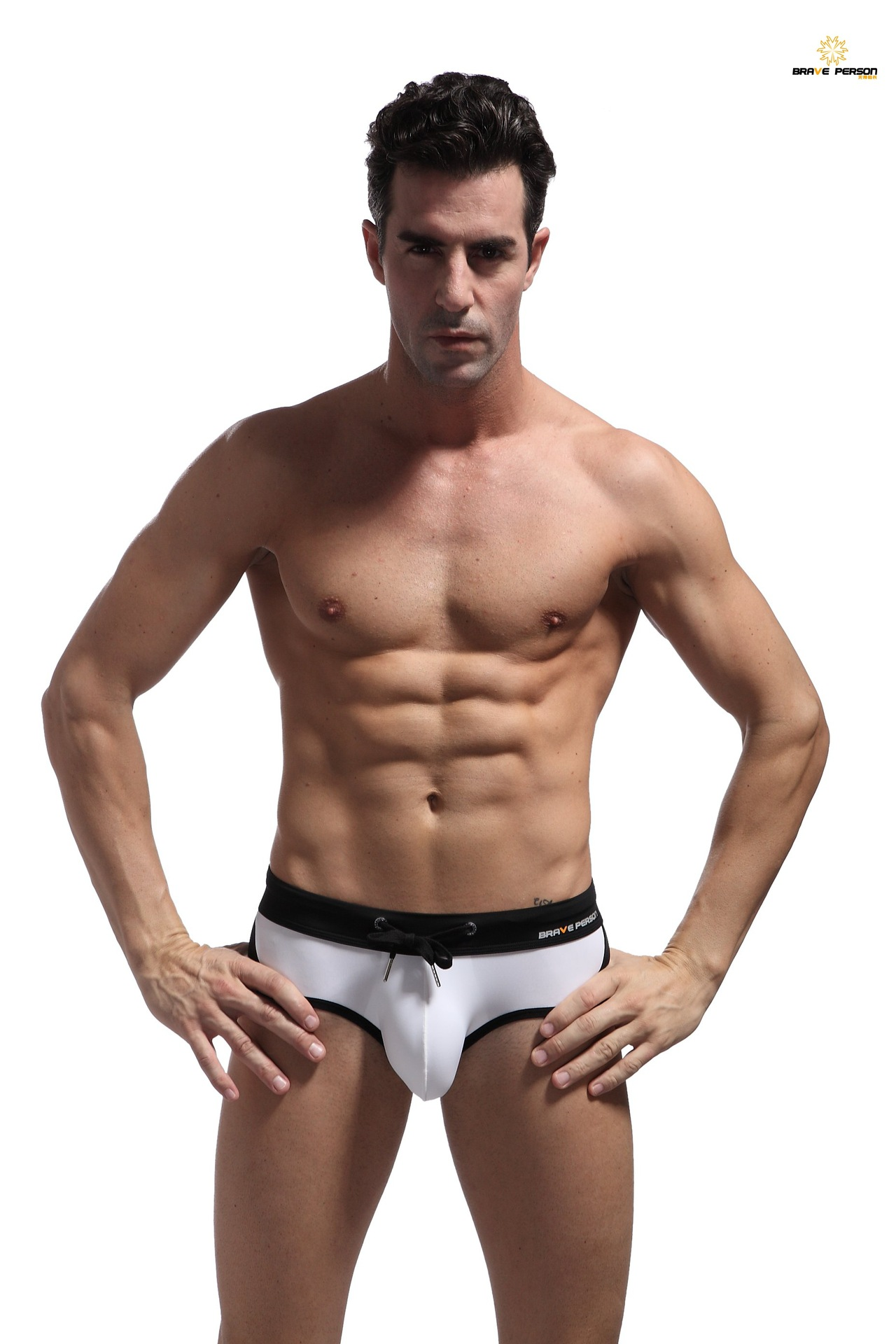 Мужские костюмы для плавания, соблазнительные мужские плавки с низкой посадкой, облегающие, крутая одежда для плавания, летние мужские бики...