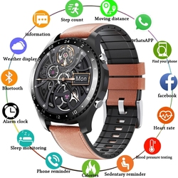 New Men's Smart Watch Sports sleep Heart rate Blood pressure Information reminder Call answering Waterproof watch