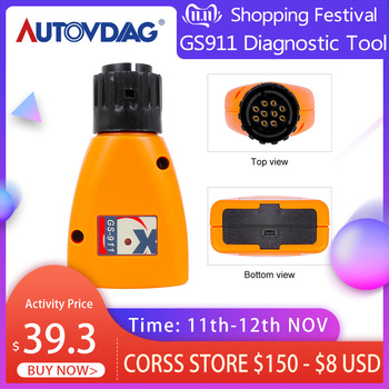 2020 Car Diagnostic Tool GS911 V1006.3 GS 911 For BMW Motorcycles Emergency Scanner Professional Analyzer Car Accessories image
