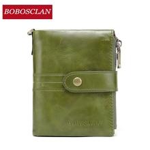 BOBOSCLAN Fashion women's wallet genuine leather womans