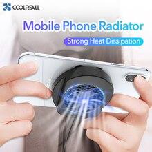 Coolreall мобильный телефон радиатор игровой Универсальный телефон кулер регулируемый портативный вентилятор держатель радиатор для iPhone samsung huawei