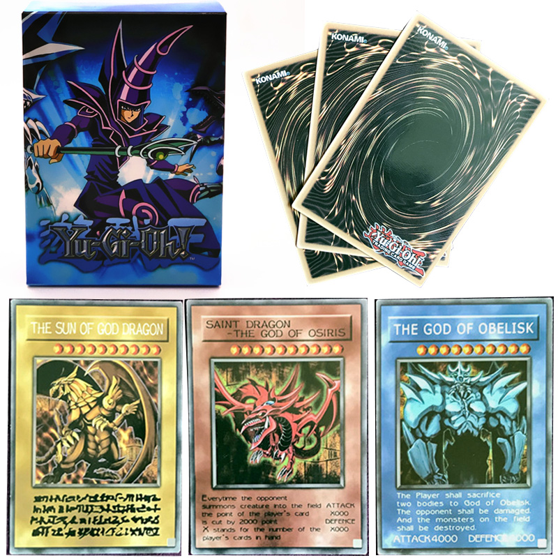 Yu Gi Oh Cards 66pcs/set YuGiOh English Table Game Board Game Card Of Gard OCG Collections   Deck For Children Christmas Gifts