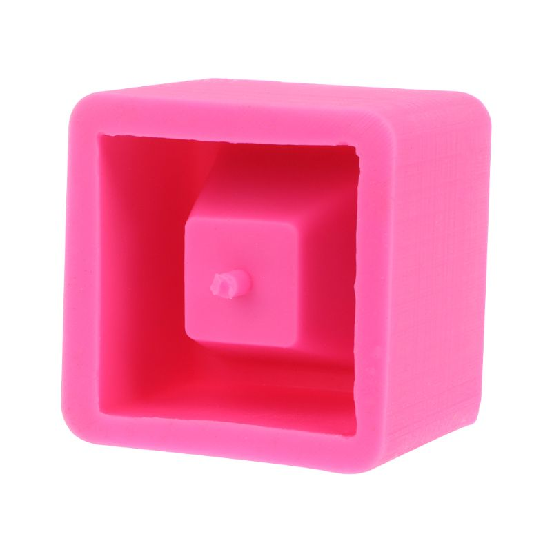 Cube Concrete Silicone <font><b>Mold</b></font> Planter <font><b>Flower</b></font> Pot Cement <font><b>Vase</b></font> Mould Craft Handmade Garden Decoration Tool image