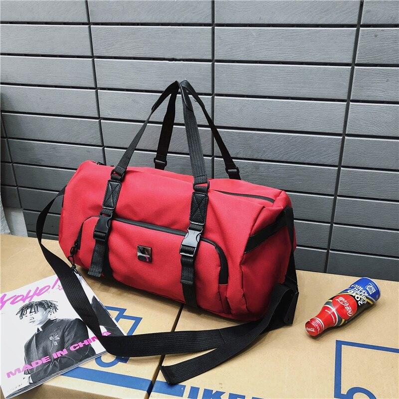 Oxford Cloth Travel Bag Waterproof Wear-resistant Travel Outdoor Shoulder Bag In Spring 2019 JIULIN