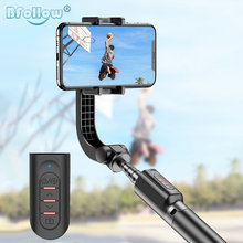 BFOLLOW Vlog Anti Shake Stabilizer Focus Bluetooth Selfie Stick for Cell Phone Camera Android Below ISO 13.4 Shoot Video Gimbal