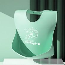 Saliva Towel Aprons Bib Adjustable Waterproof Print Different-Styles Cartoon