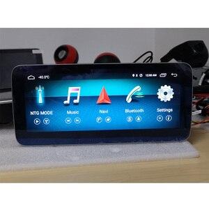 Image 2 - 10.25 android 8 4 + 64G dokunmatik ekran oyuncu Stereo ekran navigasyon GPS Benz için bir CLA GLA sınıfı 2013 2015 NTG4.5