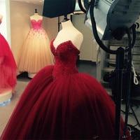 Fully Crystal Beaded Bodice Corset Royal Blue Wedding Dresses Ball Gowns Customized Made Shiny Bridal Dress vestido longo de re