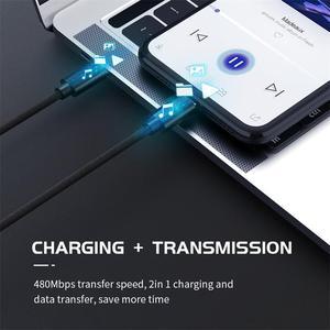 USB Type C к Micro USB 5A Кабель-адаптер для быстрой зарядки PD 100 Вт QC4.0 кабель для быстрой зарядки для Macbook Samsung Xiaomi Huawei
