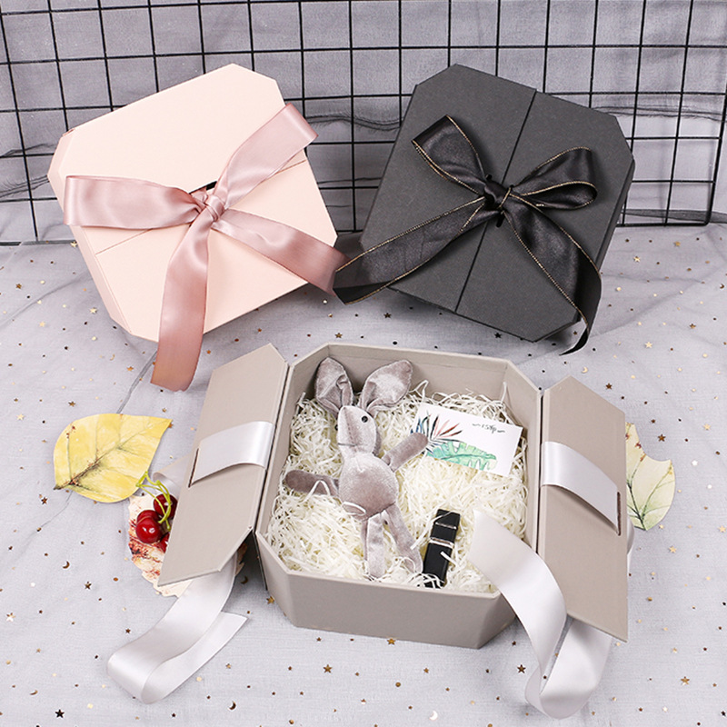 Luxury Gift Box For Valentine' S Gifts Easter Color Cosmetic Bracelets Lipstick Packaging Box 1pc Candy Wedding Souvenir Boxes