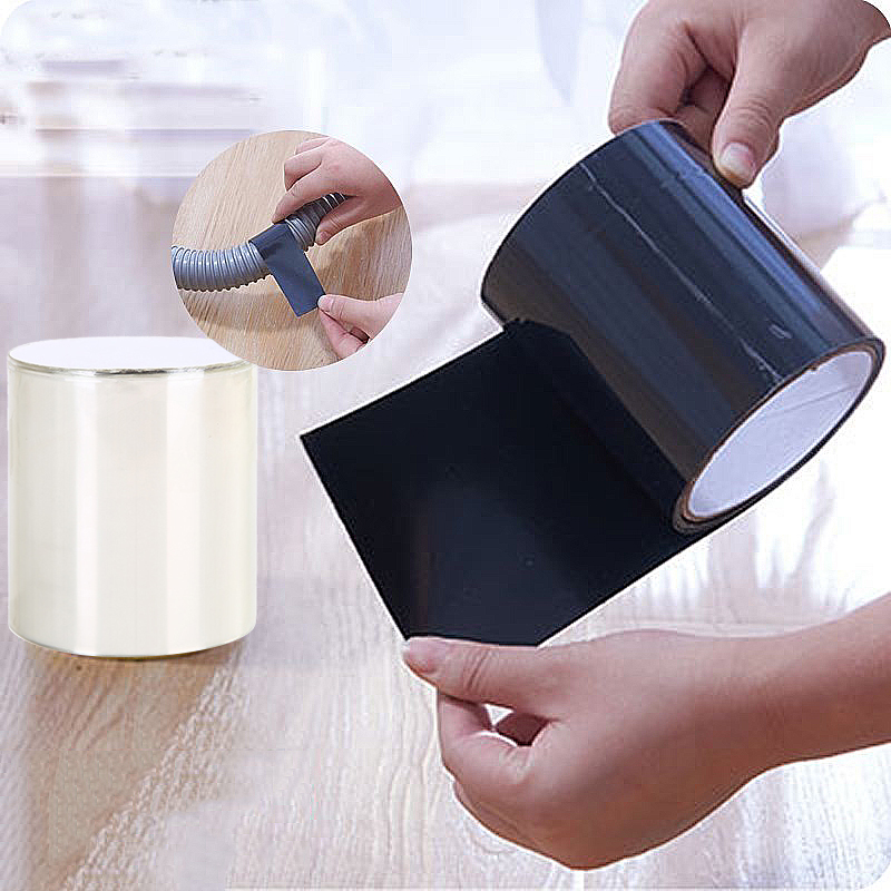 157x10cm Super Strong Fiber Waterproof Tape Stop Leaks Seal Repair Tape Performance Self Fix Tape Adhesive Tape Dropship