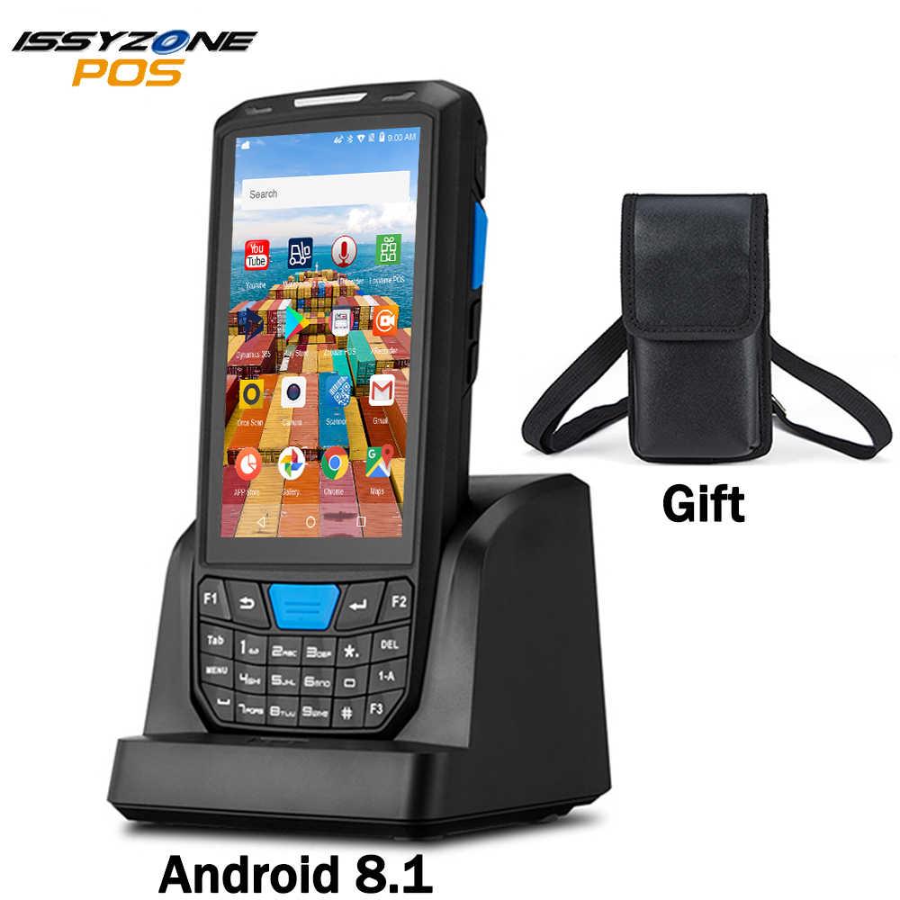 ISSYZONEPOS Handheld Pos Terminal Android 8.1PDA 1D 2D Honeywell Barcode Scanner 4G NFCบาร์โค้ดReaderแบบพกพา