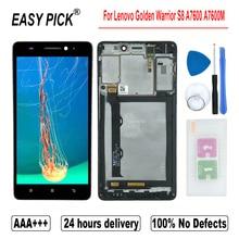 لينوفو S8 A7600 A7600M LCD عرض تعمل باللمس محول الأرقام الجمعية مع أدوات الإطار