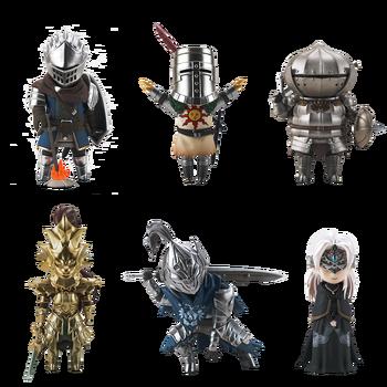 ACTOYS-Set completo de seis figuras, Dark Souls, Les, en Stock, nuevo