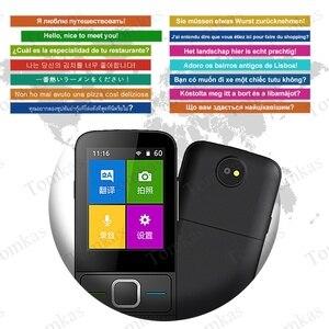 Image 3 - TOMKAS 137 traducteurs de langue traducteur intelligent écran tactile hors ligne en temps réel traducteur vocal de traduction Photo Portable