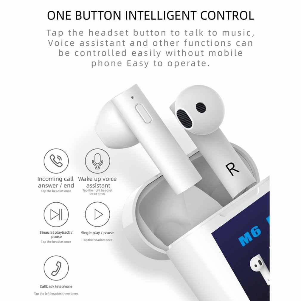 Wireless Headset Portable Human Body Temperature Measurement Surround Stereo High Guarantee Sound Quality Earphone