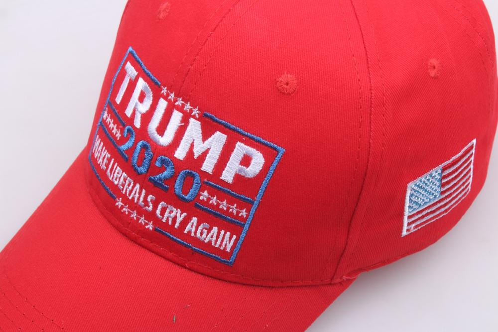 Details about  /TRUMP 2020 MAKE LIBERALS CRY AGAIN Knitted Embroidery Soft Short Beanie Hat New