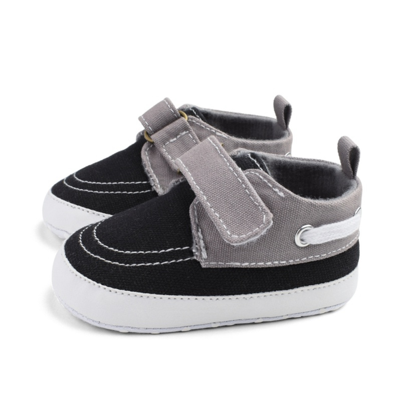 0-18M Brand New Infant Baby Boy Shoes Newborn Soft Sole Sneaker Cotton Crib Shoes Sport Casual Warm First Walkers