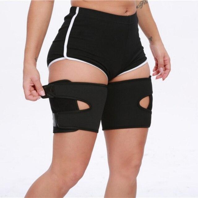 Leg Belt Sweat Thigh Trimmer Sweat Band Leg Slimmer Weight Loss Neoprene Gym Workout Corset Thigh Slimmer Tone Legs Strap Women 4